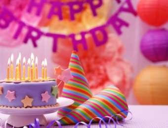 Дни рождения в банкетном зале ресторана